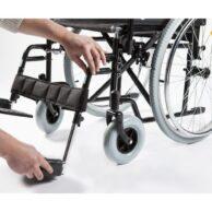 Neįgaliojo vežimo nuimamos pėdų atramos