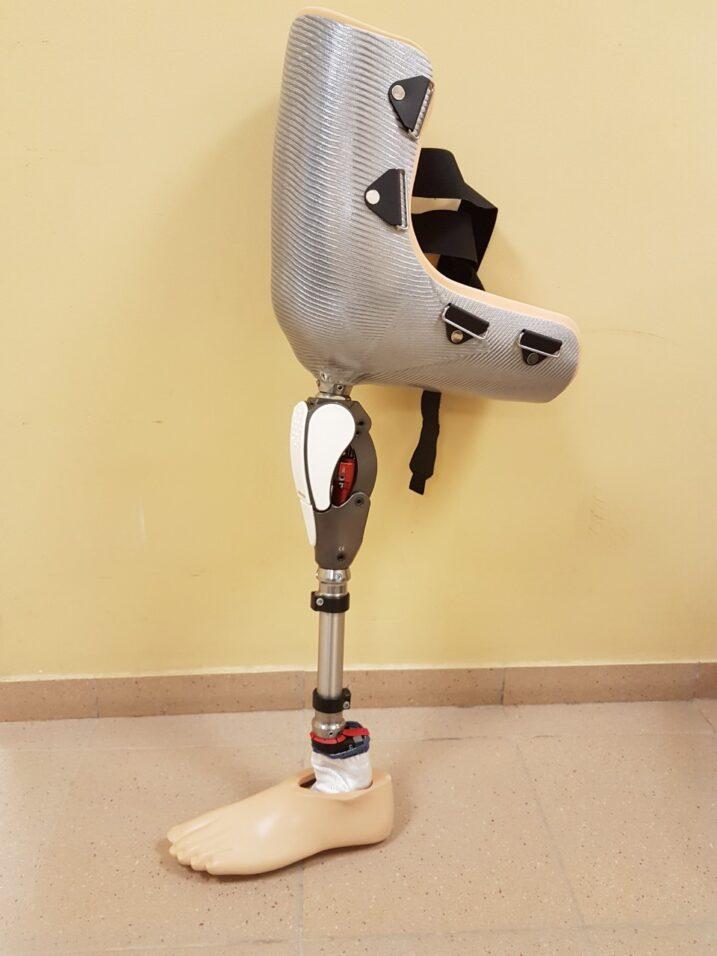 Imitacinis kojos protezas